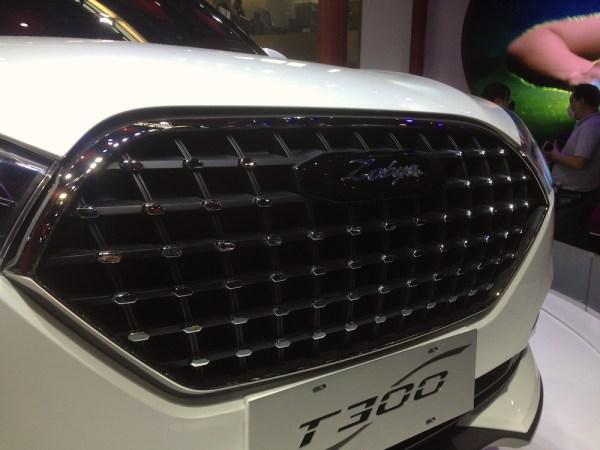 Zotye T300 Concept detail