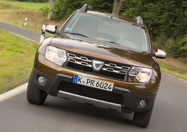 Dacia Duster New Caledonia May 2016