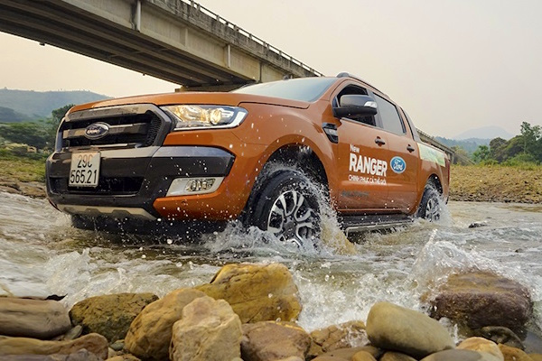 Ford Ranger Vietnam May 2016. Picture courtesy napthungxebantai.vn
