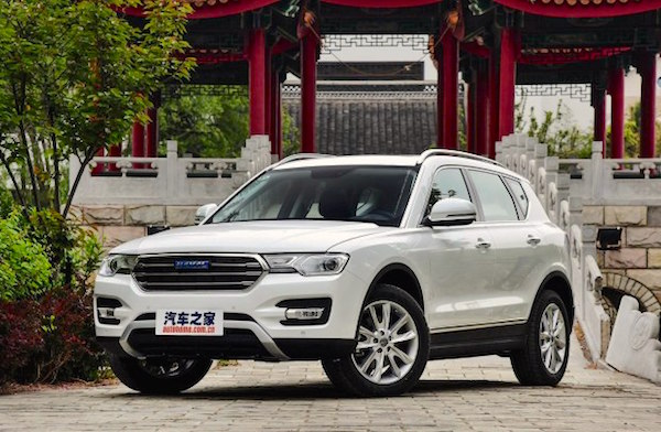 Haval H7 China May 2016. Picture courtesy autohome.com.cn