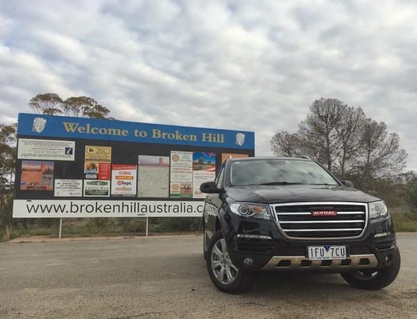 Haval H8 Broken Hill 1