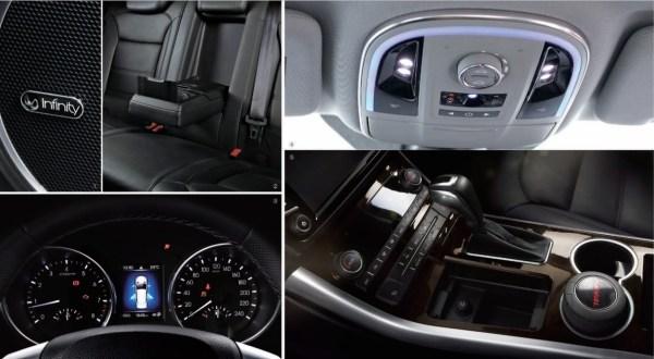 Haval H8 interior features