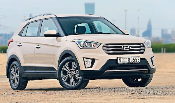 Hyundai Creta Jordan April 2016. Picture courtesy wheels.ae