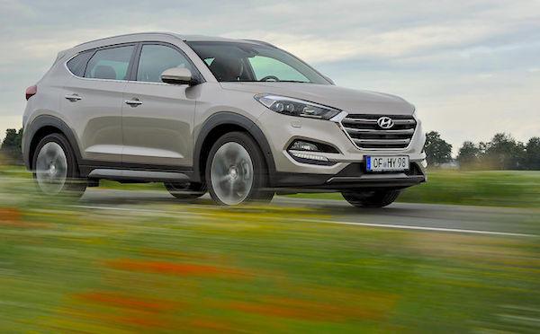 Hyundai Tucson Ireland July 2016. Picture auto-motor-und-sport.de