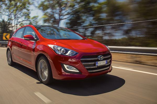 Hyundai i30 Australia May 2016