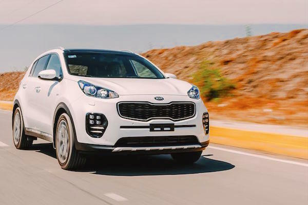Kia Sportage Mexico June 2016. Picture courtesy autocosmos.com.mx