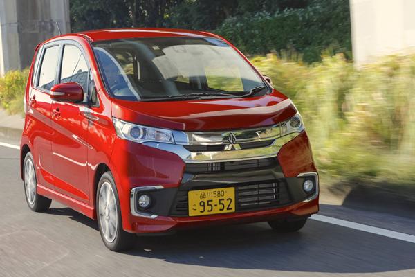 Mitsubishi ek Japan May 2016. Picture courtesy carsensor.net