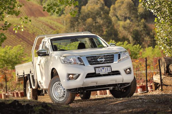 Nissan Navara Australia May 2016