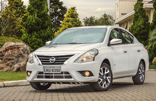 Nissan Versa Mexico April 2016. Picture courtesy carros.ig.com.br