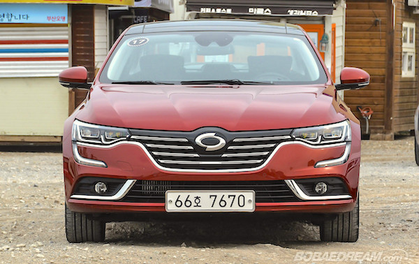 Renault Samsung SM6 South Korea May 2016. Picture courtesy bobaedream.co.kr