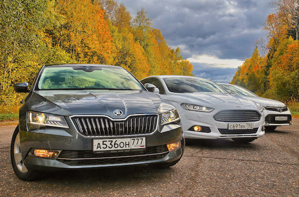 Skoda Superb Russia May 2016. Picture courtesy zr.ru