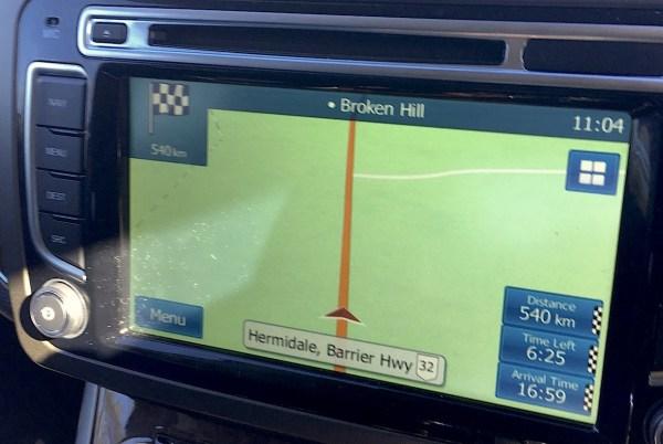 Straight ahead to Broken Hill