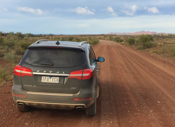 1. Haval H8 First dirt track