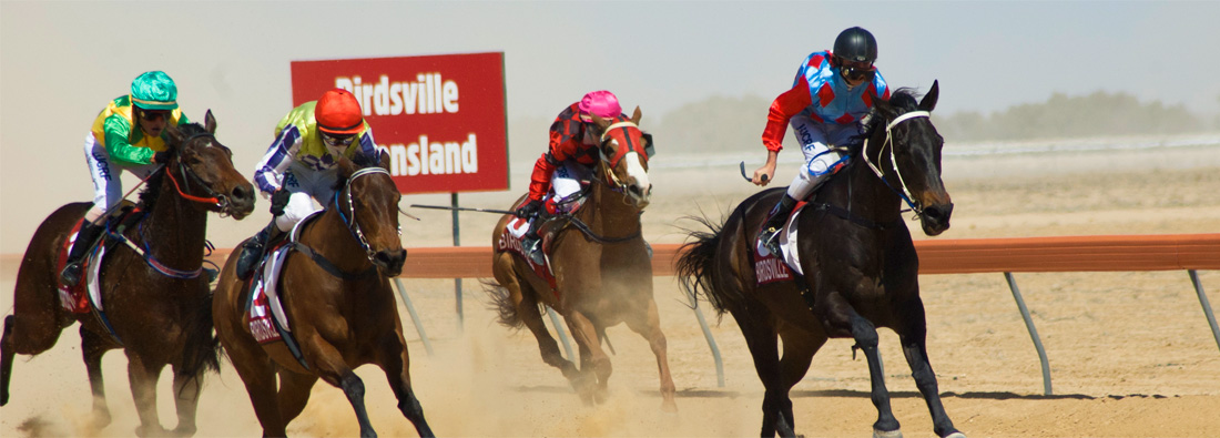 The legendary Birdsville Races