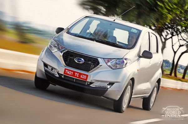 Datsun RediGO India June 2016. Picture courtesy motorworldindia.com