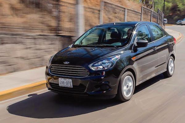 Ford Figo Mexico August 2016. Picture courtesy autocosmos.com