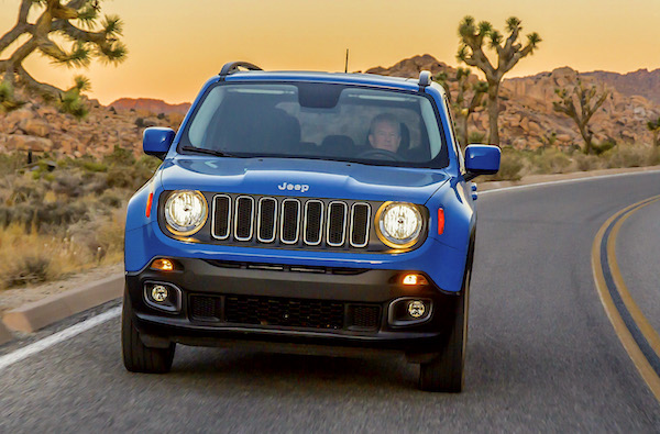 Jeep Renegade USA June 2016. Picture courtesy caradvice.com.au