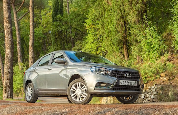 Lada Vesta Russia June 2016. Picture courtesy zr.ru