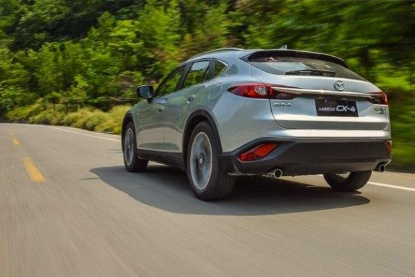 Mazda CX-4 China June 2016. Picture courtesy of autohome.com.cn