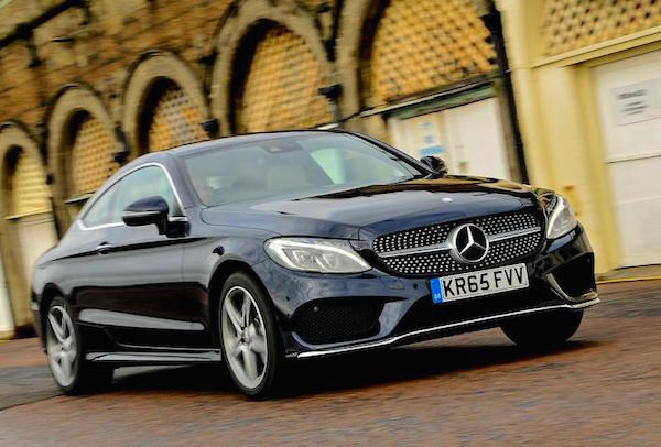 Mercedes C Class UK June 2016. Picture courtesy autocar.co.uk