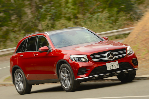 Mercedes GLC Japan June 2016. Picture courtesy autoc-one.jp