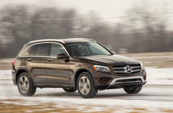 Mercedes GLC USA June 2016. Picture courtesy caranddriver.com