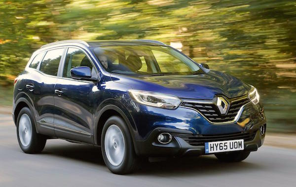 Renault Kadjar UK June 2016. Picture autocar.co.uk