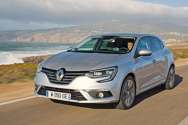 Renault Megane Portugal May 2016. Picture courtesy autobild.es