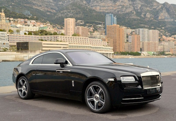 Rolls Royce Wraith Monaco 2015. Picture courtesy monaco-occasions.com