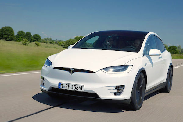 Tesla Model X Germany June 2016. Picture courtesy auto-motor-und-sport