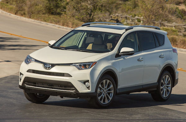 Toyota RAV4 USA June 2016. Picture courtesy motortrend.com