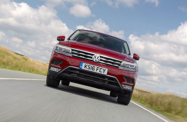 VW Tiguan Germany June 2016