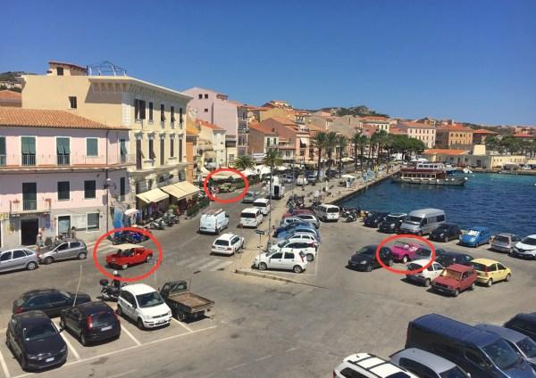 Citroen Mehari x3 La Maddalena Sardinia