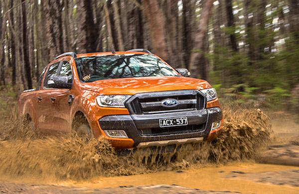 Ford Ranger Australia July 2016. Picture courtesy caradvice.com.au