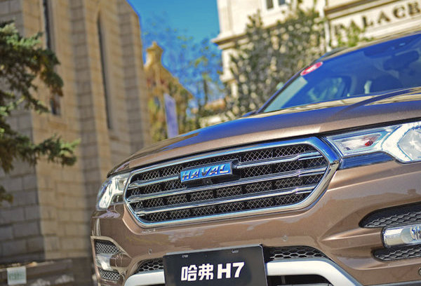 Haval H7 China July 2016