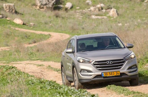 Hyundai Tucson Israel September 2016. Picture courtesy 4x4.co.il