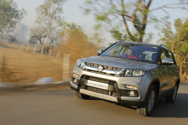 Maruti Vitara Brezza India July 2016. Picture courtesy gaadi.com
