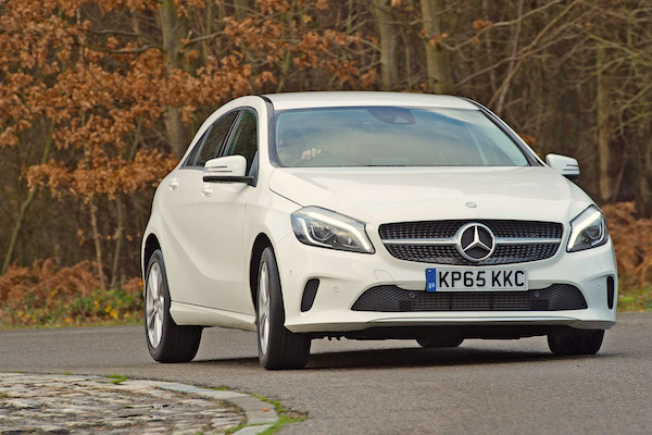 Mercedes A Class UK July 2016