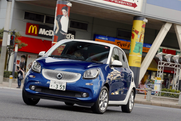 Smart Forfour Japan July 2016. Picture courtesy autoc-one.jp