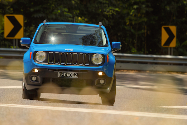 Jeep Renegade Italy August 2016
