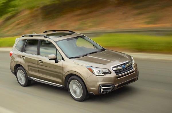 Subaru Forester Canada August 2016