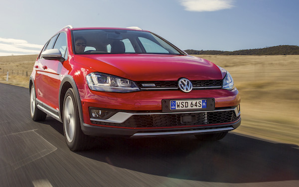 VW Golf Alltrack Sweden August 2016. Picture courtesy caradvice.com.au