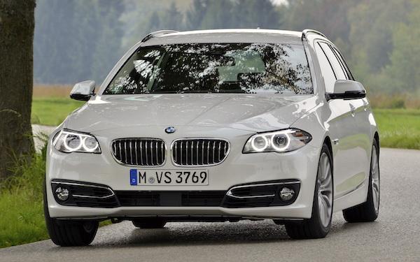 BMW 5 Series Sweden August 2016