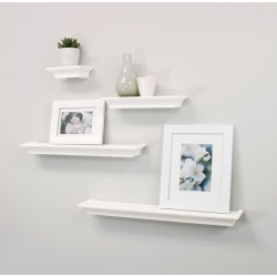 Small Crop Of Unique Floating Shelves