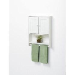 Small Crop Of White Wood Bathroom Shelf