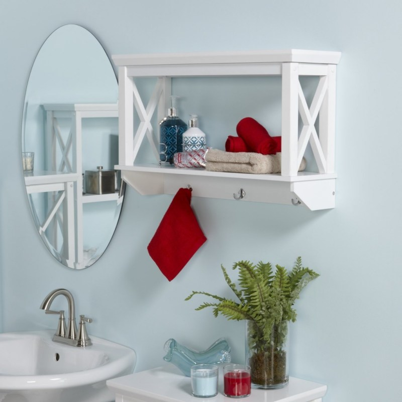 Enamour X Frame Bathroom Wall Shelf Wooden Bathroom Shelves Reviews Chrome Bathroom Wall Shelving Bathroom Wall Shelving Lowes