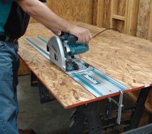 Makita SP6000J1 6-1/2-Inch Plunge Circular Saw with Guide Rail Track Saw - Makita Track Saw Review
