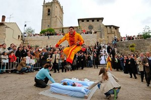 The baby jumping festival – Spain