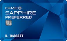 Chase Sapphire Preferred®Card