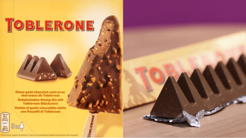 Medium Of Toblerone Ice Cream